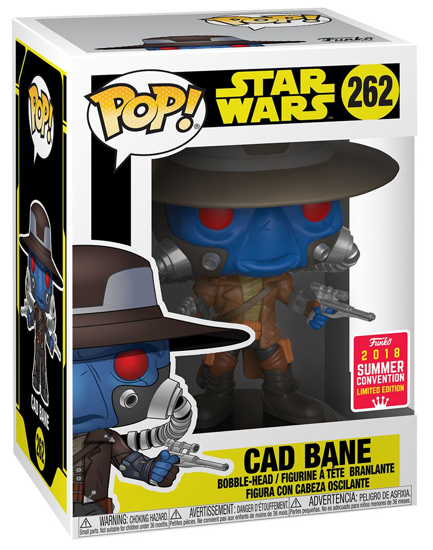 Image of   Star Wars Clone Wars SDCC 2018 - Cad Bane Vinyl Figure 262 Samlefigur Standard
