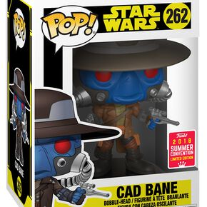 Star Wars Figurine En Vinyle La Guerre Des Clones SDCC 2018 - Cad Bane 262 Figurine de collection Standard