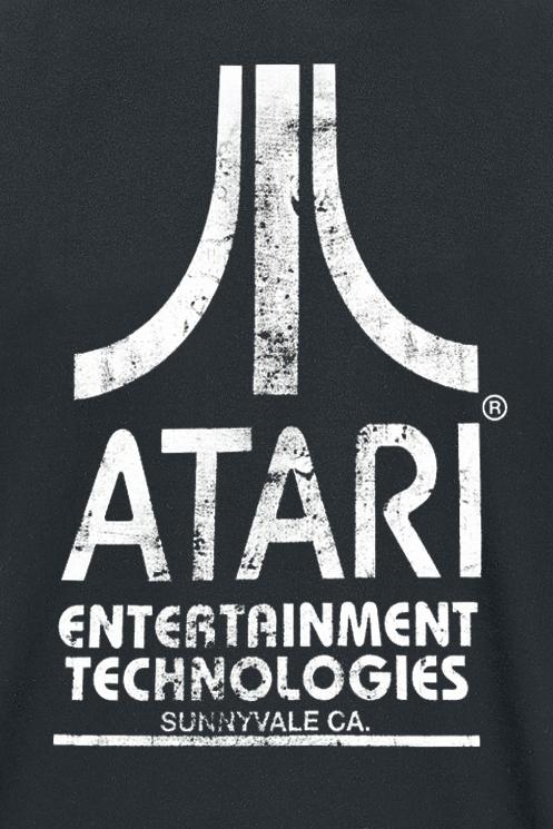 Image of Atari Entertainment Technologies - Logo T-Shirt schwarz