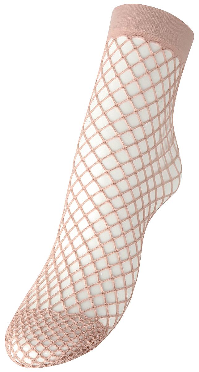 Pamela Mann - Extra Large Net Ankle Sock - Socks - light pink