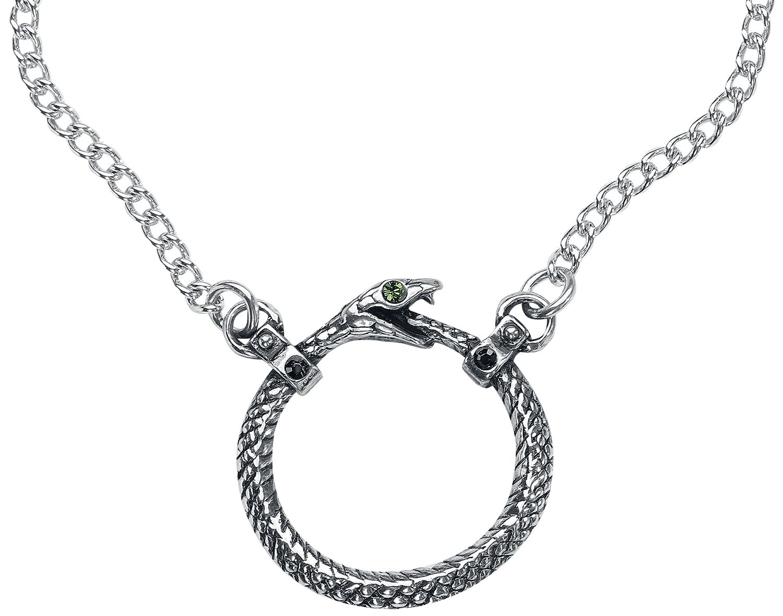 Image of   Alchemy Gothic Sophia Serpent halskæde Halskæde sølvfarvet