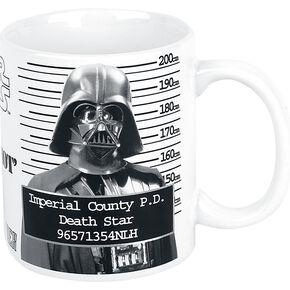 Star Wars Dark Vador - Mug Shot Mug blanc