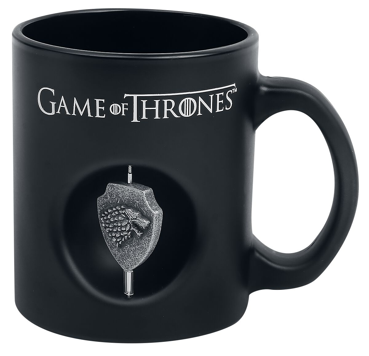 Image of   Game Of Thrones House Stark - Tasse mit Spinner Krus sort