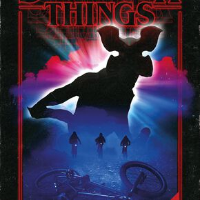 Stranger Things Demogorgon Poster multicolore