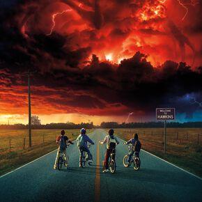 Stranger Things Saison 2 - Key Art Poster multicolore