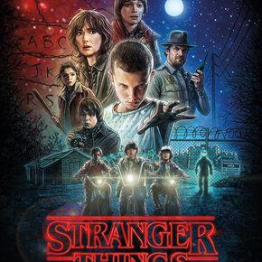 Stranger Things Key Art Poster multicolore