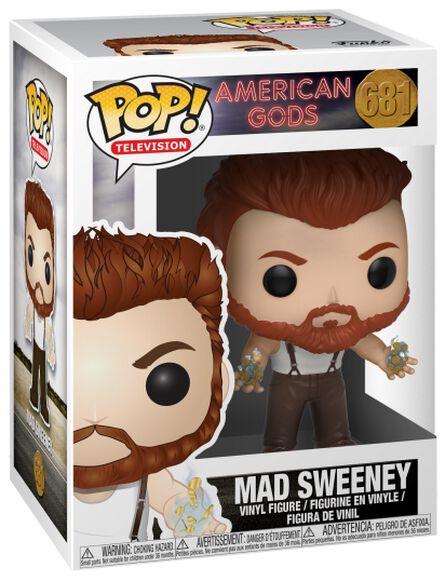 American Gods Figurine En Vinyle Mad Sweeney 681 Figurine de collection Standard
