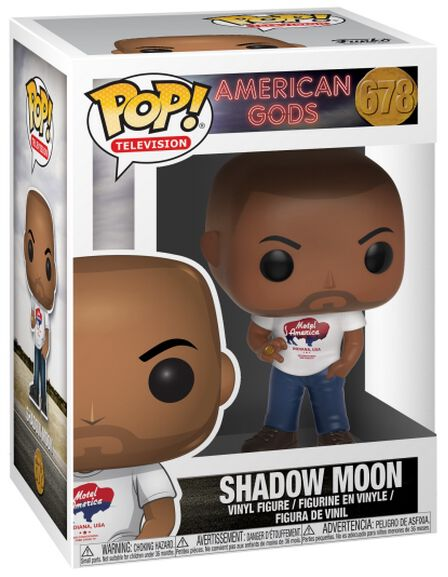 American Gods Figurine En Vinyle Shadow Moon 678 Figurine de collection Standard
