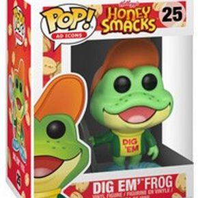 Figurine Pop! Grenouille Dig Em' Frog