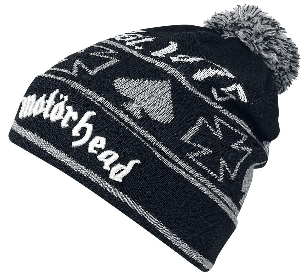 Image of   Motörhead Beanie Beanie sort-grå