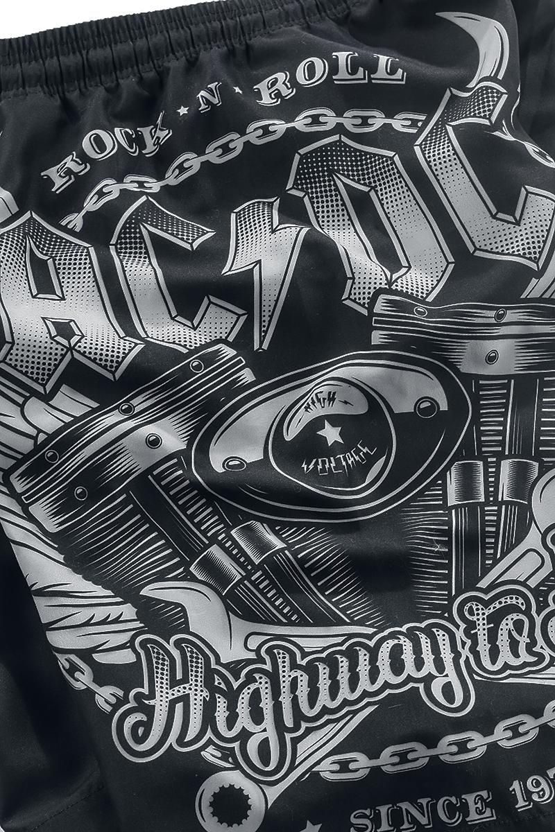 Image of AC/DC EMP Signature Collection Badeshorts schwarz