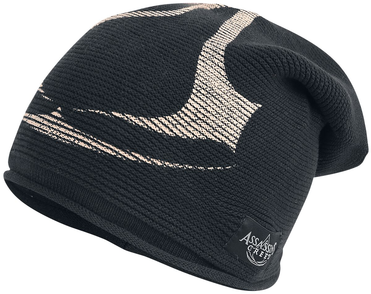 Image of   Assassin's Creed Crest Logo Long Beanie Beanie sort