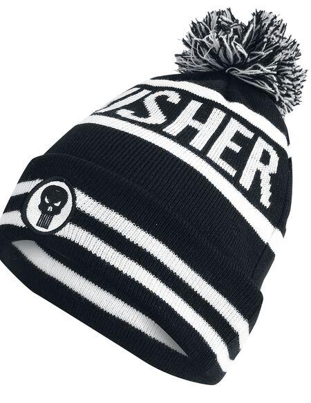 Marvel Punisher Men's Beanie Hat - Black