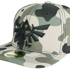 The Legend Of Zelda Casquette Camouflage Avec Broderie En Relief Casquette Snapback camouflage