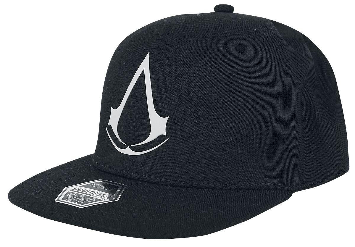 Image of   Assassin's Creed Crest Snapback Cap grå