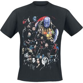 Avengers Infinity War - Group T-shirt noir