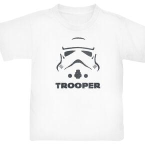 Star Wars Stormtrooper T-shirt Enfant blanc