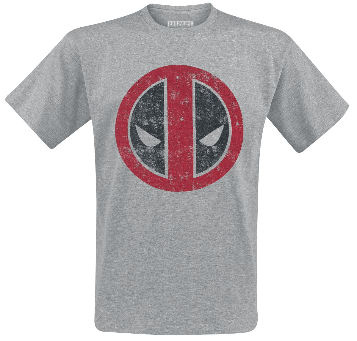 Image of   Deadpool Logo T-Shirt grålig