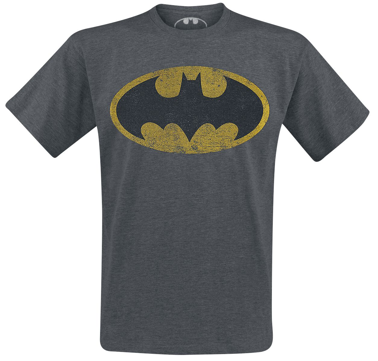 Image of   Batman Logo T-Shirt Antracitmix