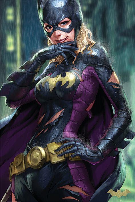 Image of   Batman Batgirl Plakat multifarvet