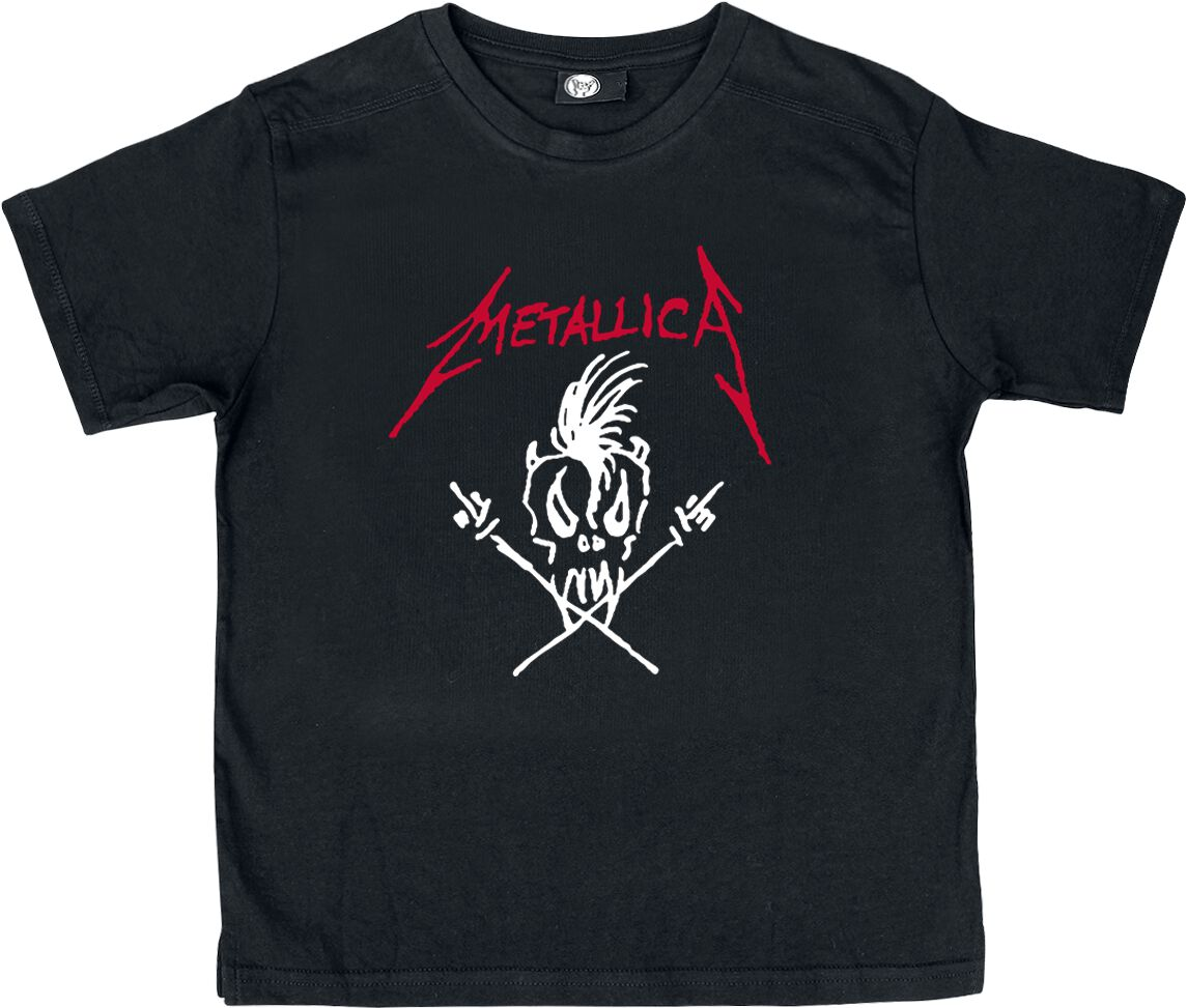 Metallica Scary Guy Kinder-Shirt schwarz