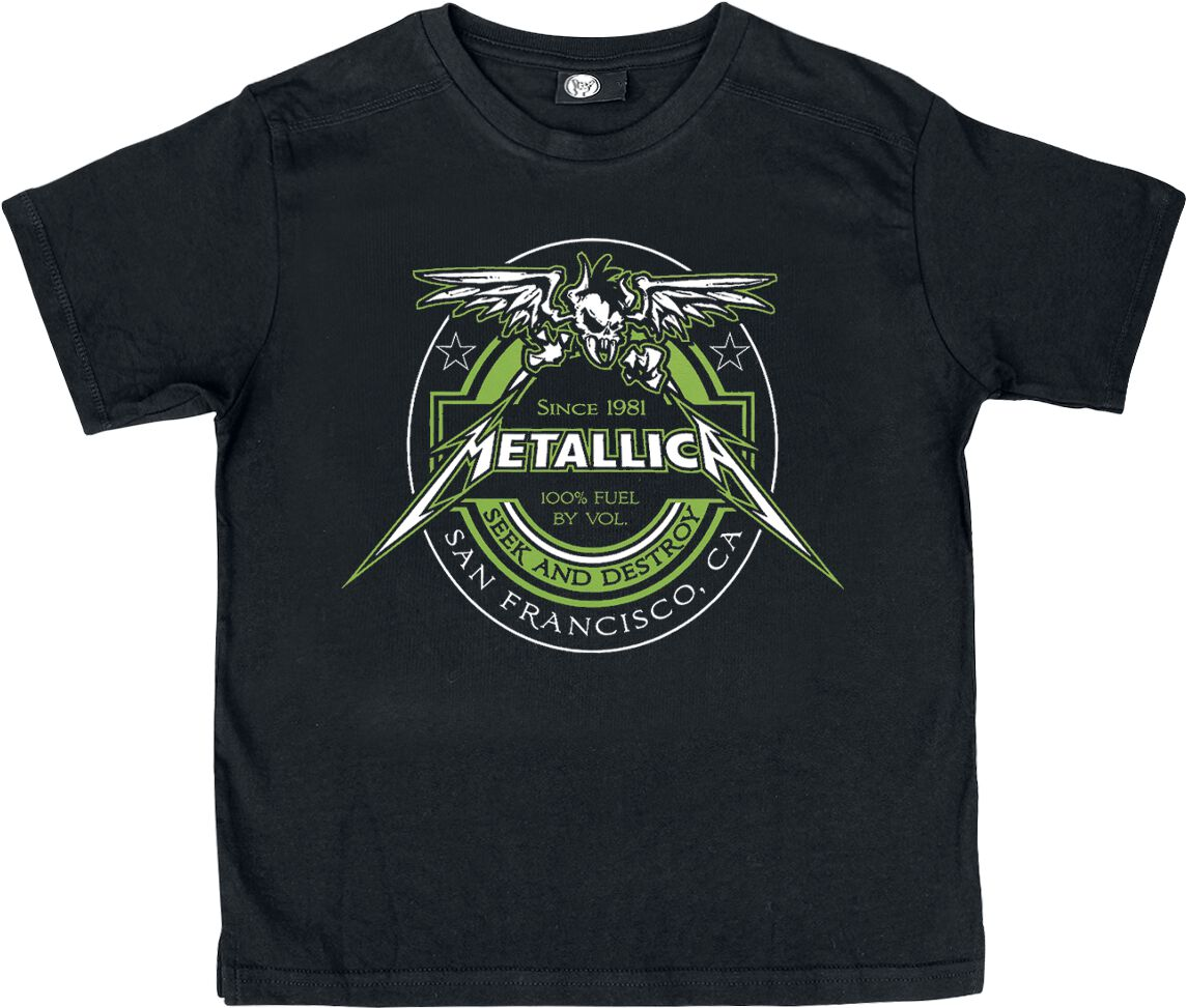 Metallica Fuel Kinder-Shirt schwarz