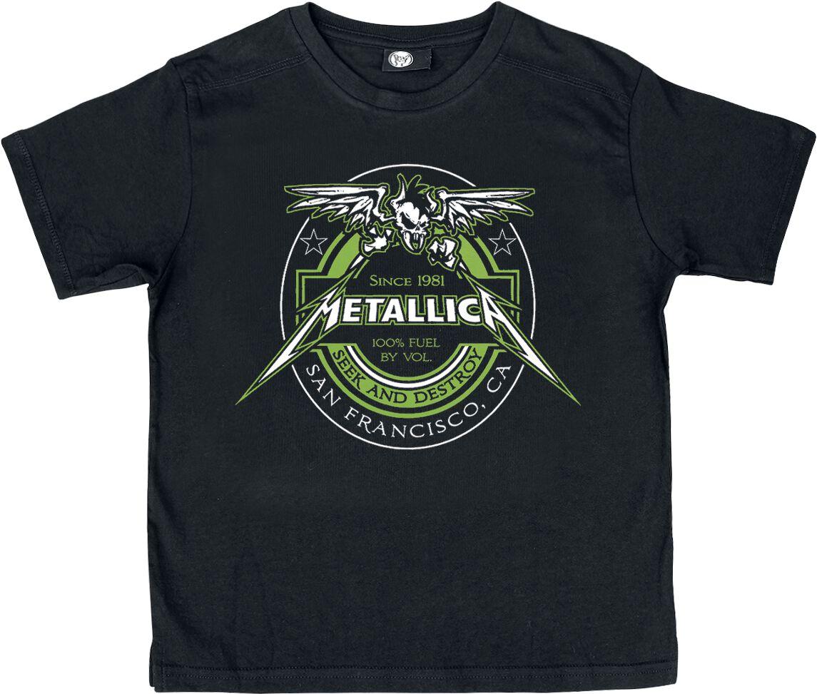 Metallica Fuel Kinder-Shirt schwarz