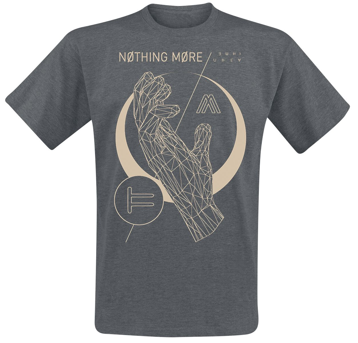 d7f4b934c06e Image of Nothing More Stories Hand T-Shirt mørk grålig