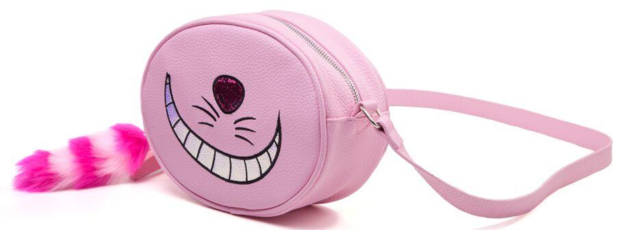 Image of   Alice i Eventyrland Filurkatten Håndtaske lys pink