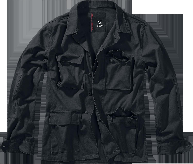 Brandit - BDU Twill Jacket - Jacket - black