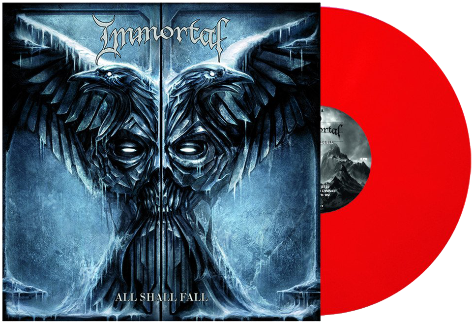Immortal - All shall fall - LP - red