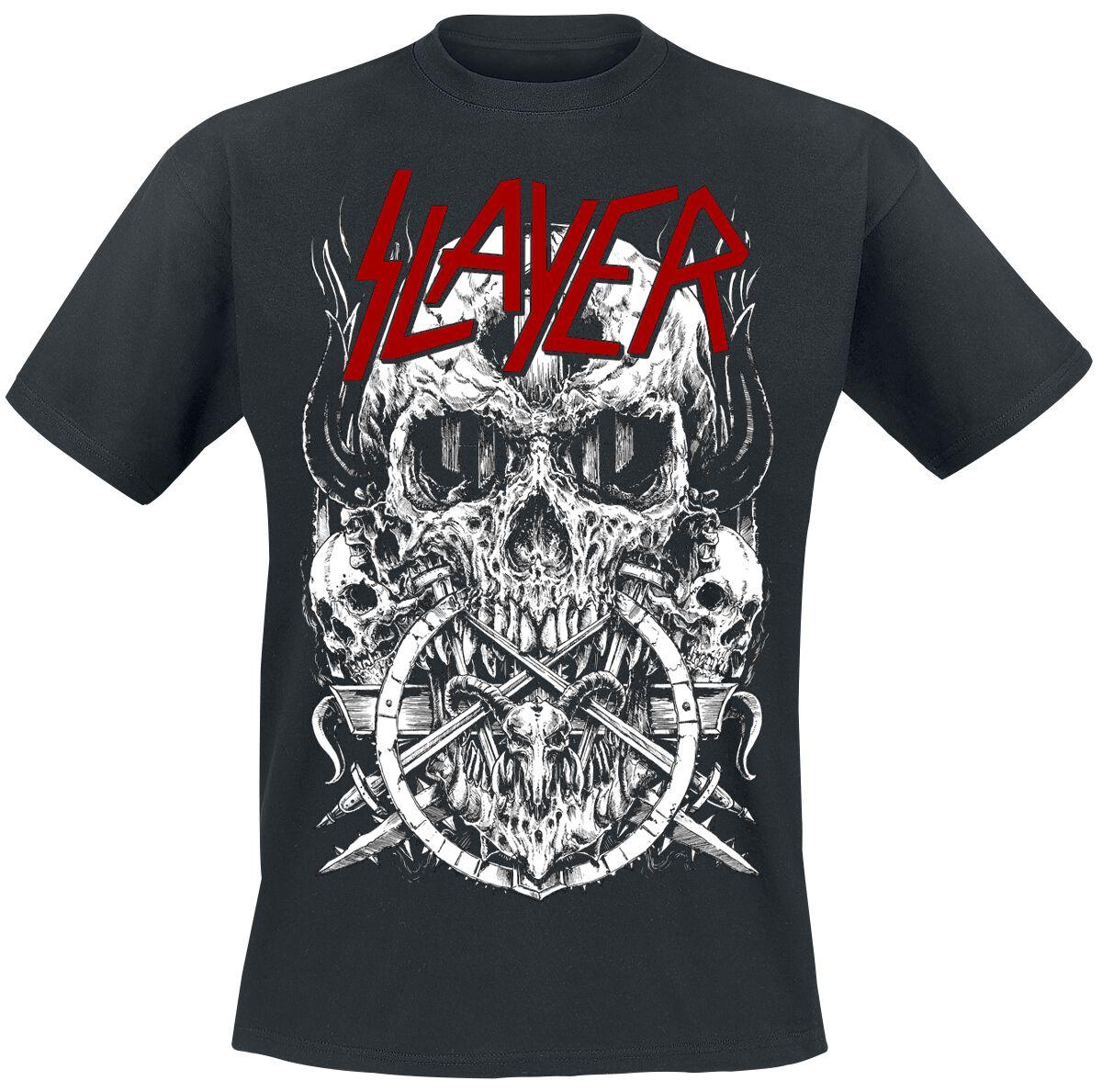 Image of   Slayer Skulltagram T-Shirt sort