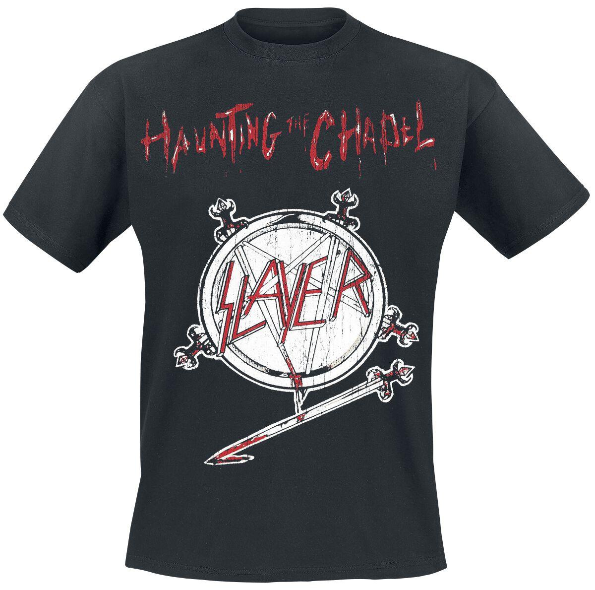 Image of   Slayer Haunting The Chapel T-Shirt sort