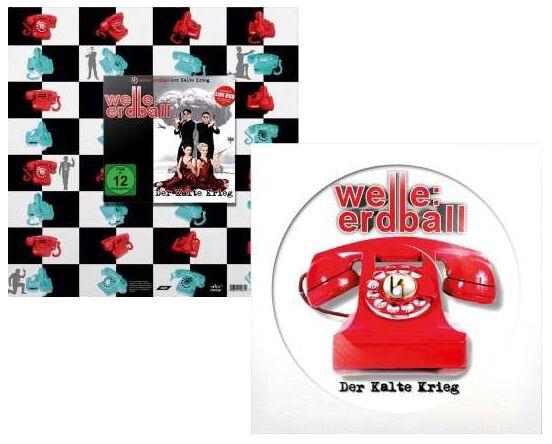 Welle: Erdball Der kalte Krieg 2-LP & CD & DVD ...