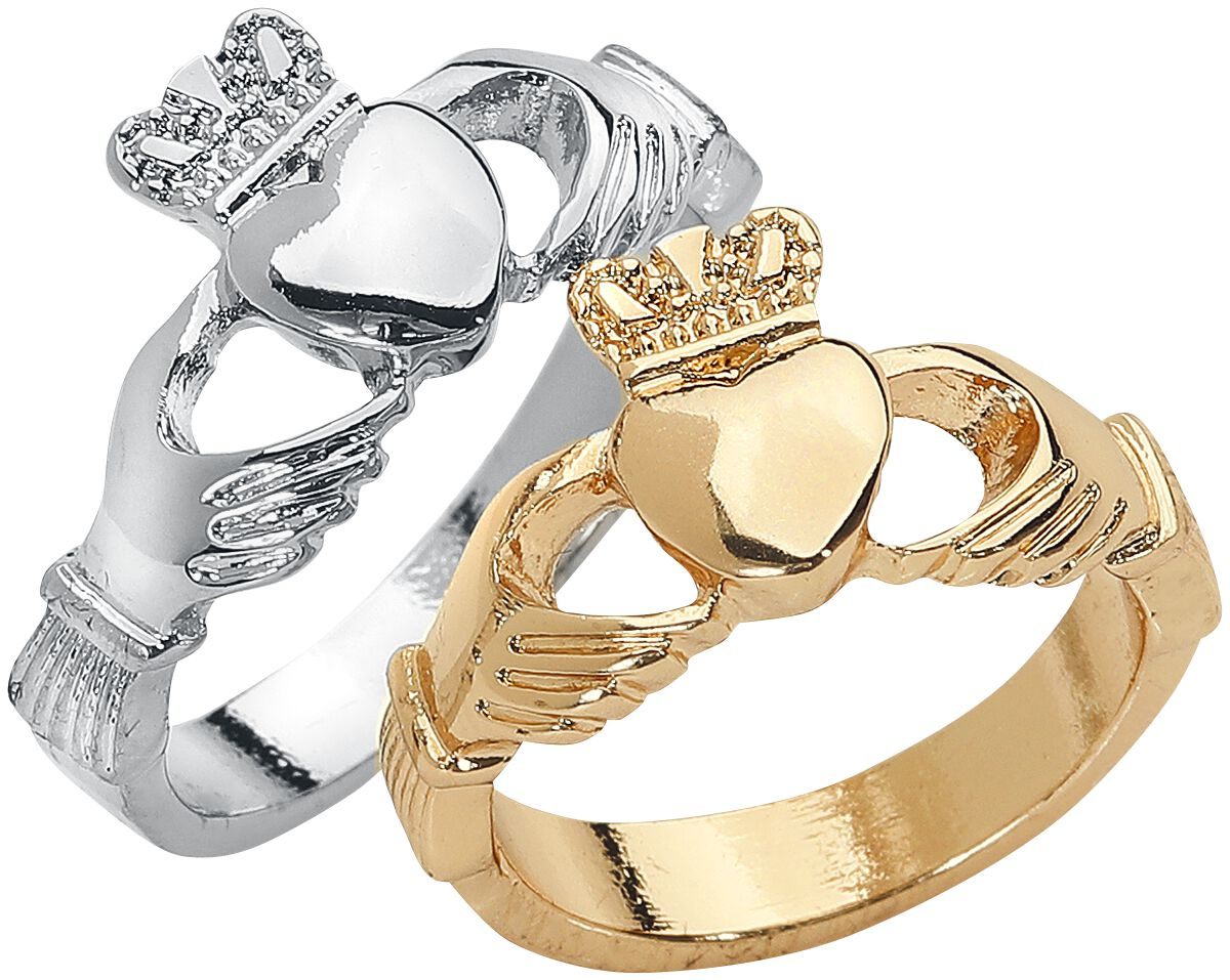 Image of   Blackheart Claddagh Ring Set Ring Standard