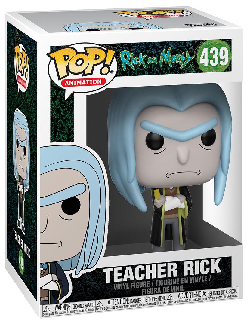 Image of   Rick And Morty Teacher Rick Vinyl Figure 439 Samlefigur Standard