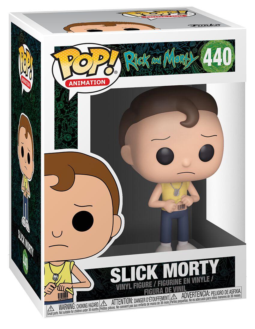 Image of   Rick And Morty Slick Morty Vinyl Figure 440 Samlefigur Standard