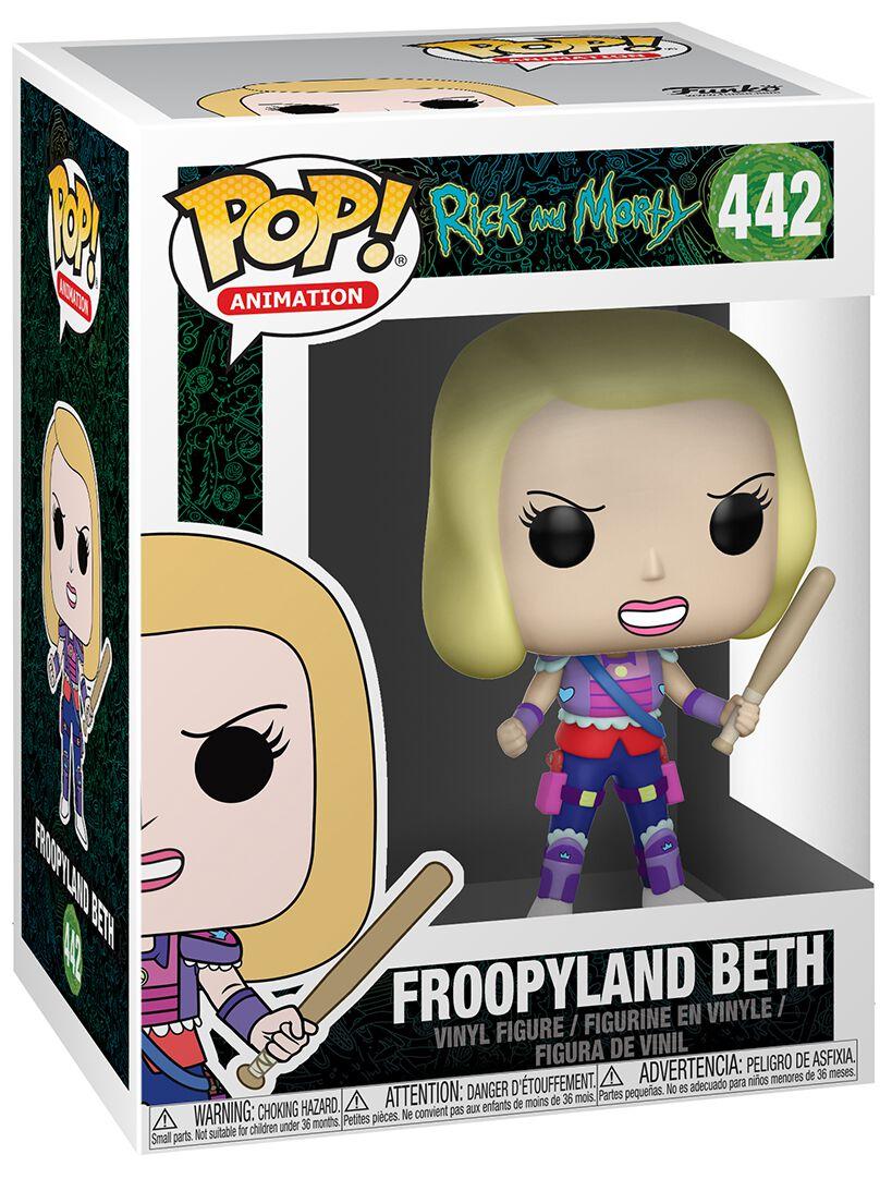 Image of   Rick And Morty Froopyland Beth Vinyl Figure 442 Samlefigur Standard