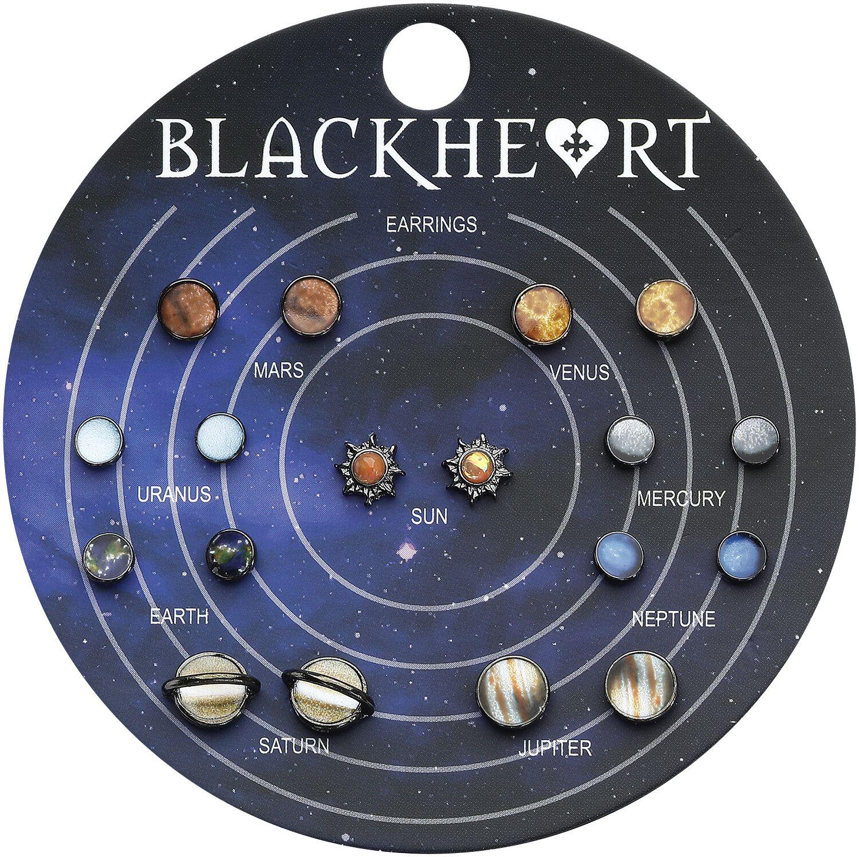 Image of   Blackheart Solar System Ørestik sæt multifarvet