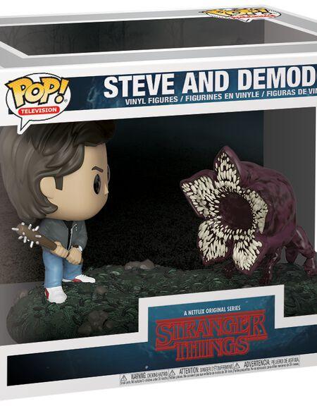 Figurine Pop! Movie moment - Steve Vs Demodog - Stranger Things