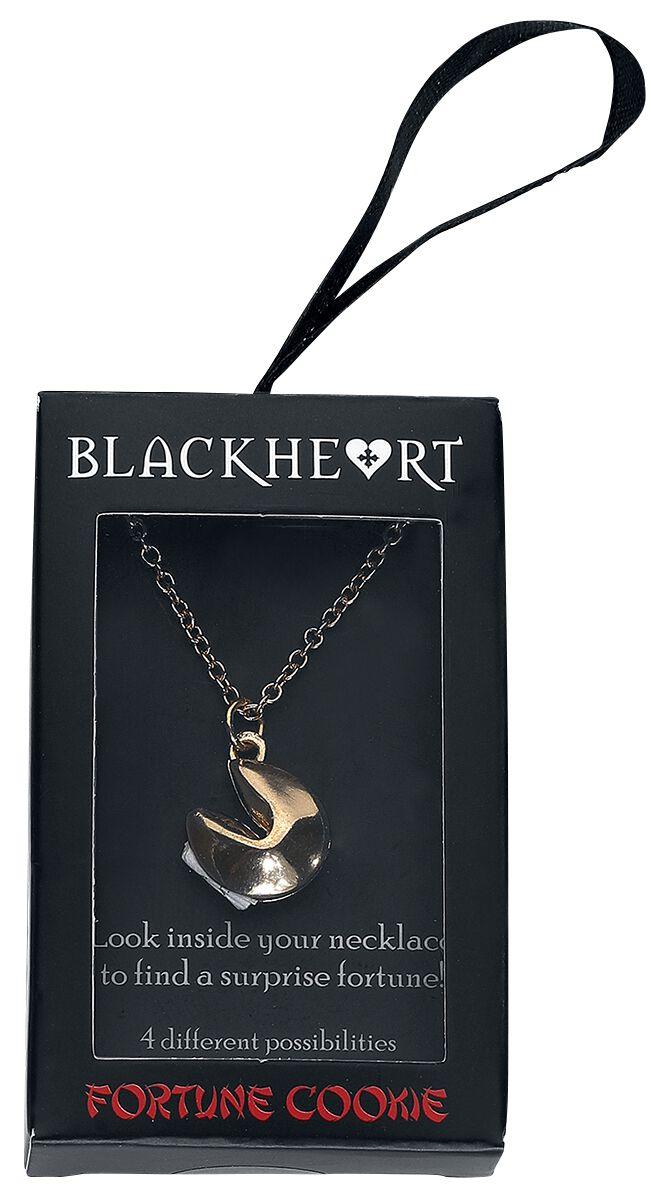 Image of   Blackheart Fortune Cookie Halskæde guld