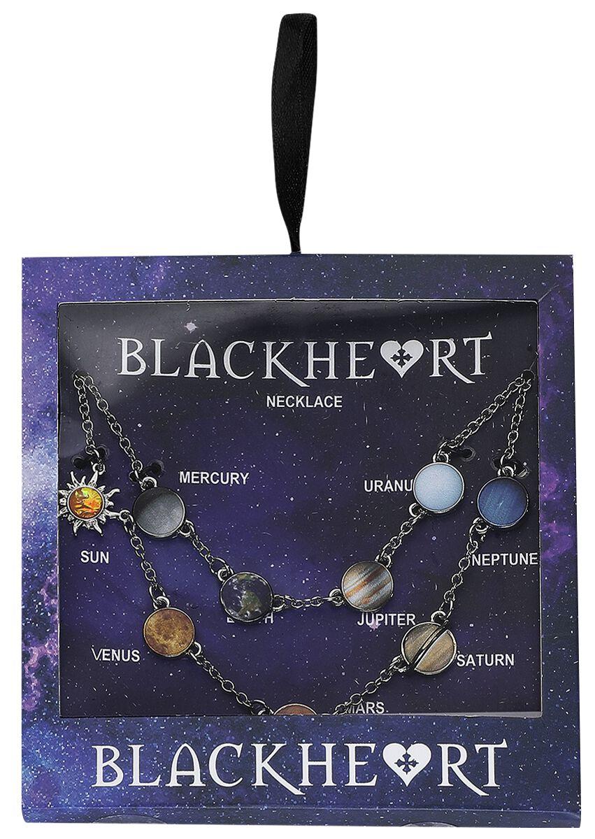 Image of   Blackheart Solar System Halskæde multifarvet