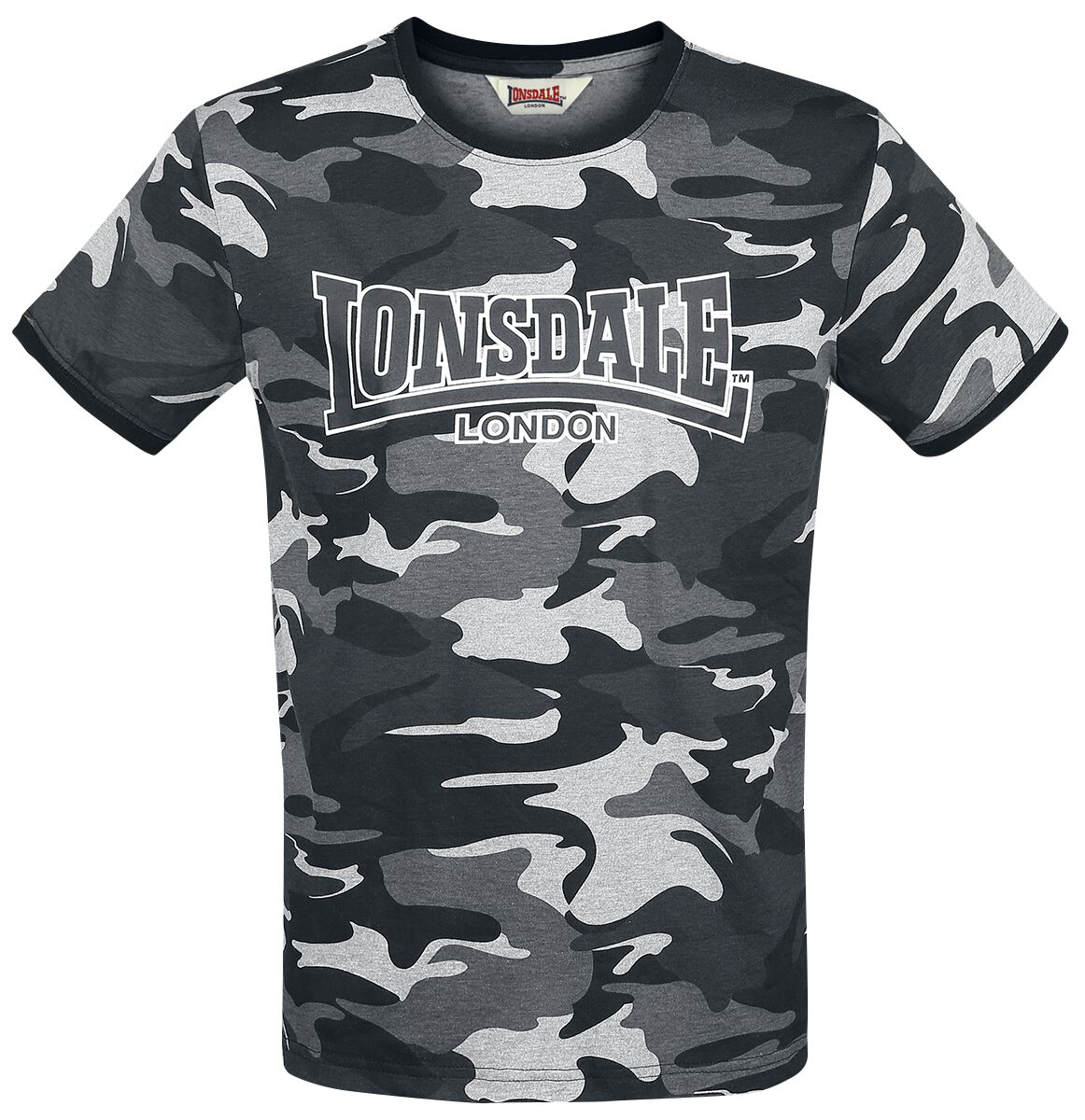Image of Lonsdale London Cobbett T-Shirt camouflage