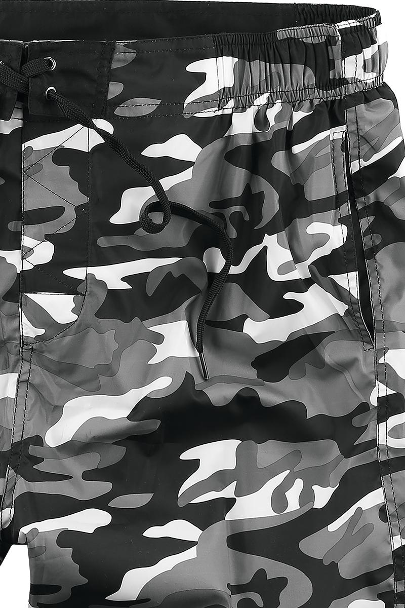 Image of Lonsdale London Lothrop Badeshorts camouflage