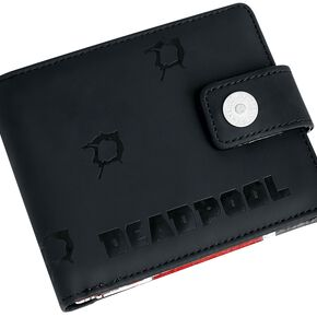 Deadpool Twelve Bullets Portefeuille noir/rouge