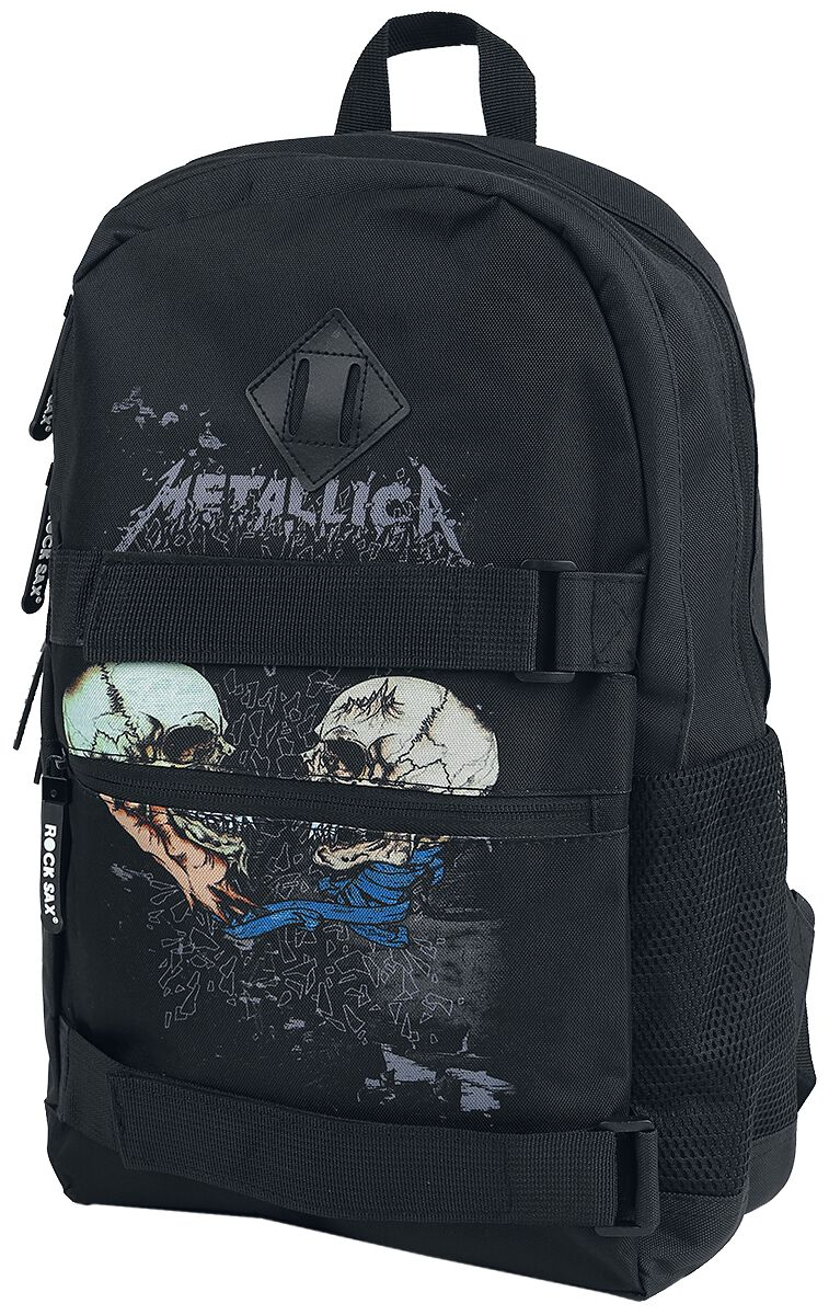 Metallica Sad But True Rucksack schwarz
