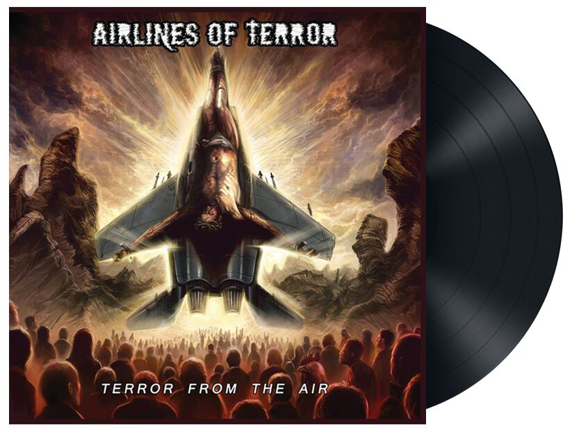 Image of   Airlines Of Terror Terror from the air CD standard