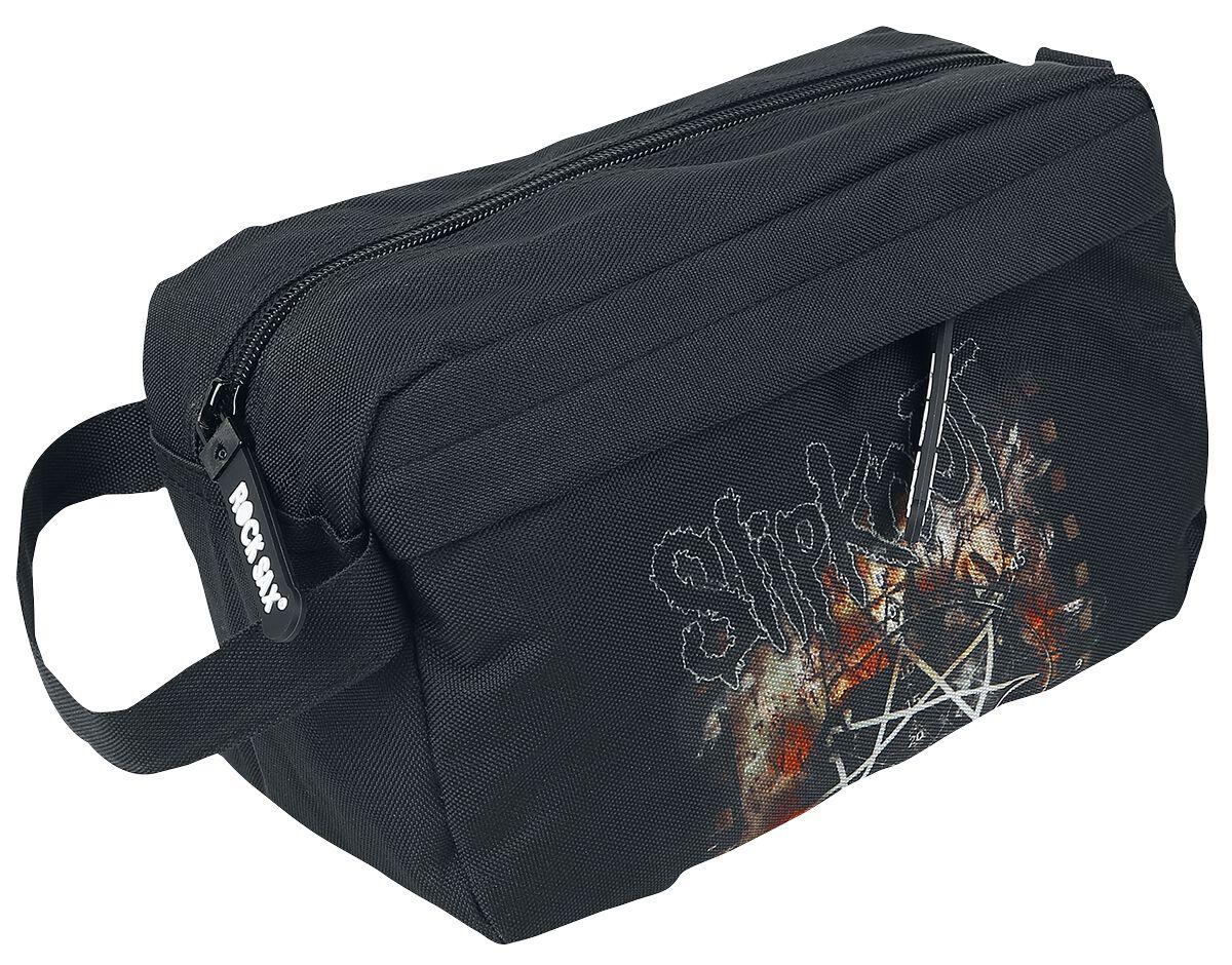 Image of   Slipknot pentagram Toilettaske sort