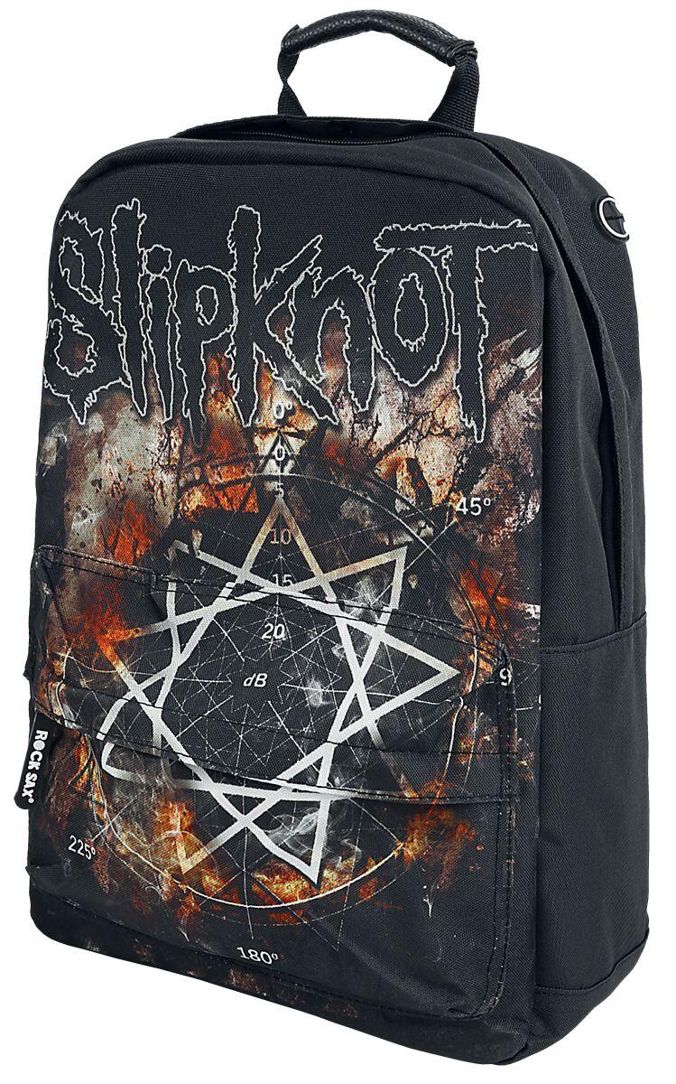 Image of   Slipknot pentagram Rygsæk sort