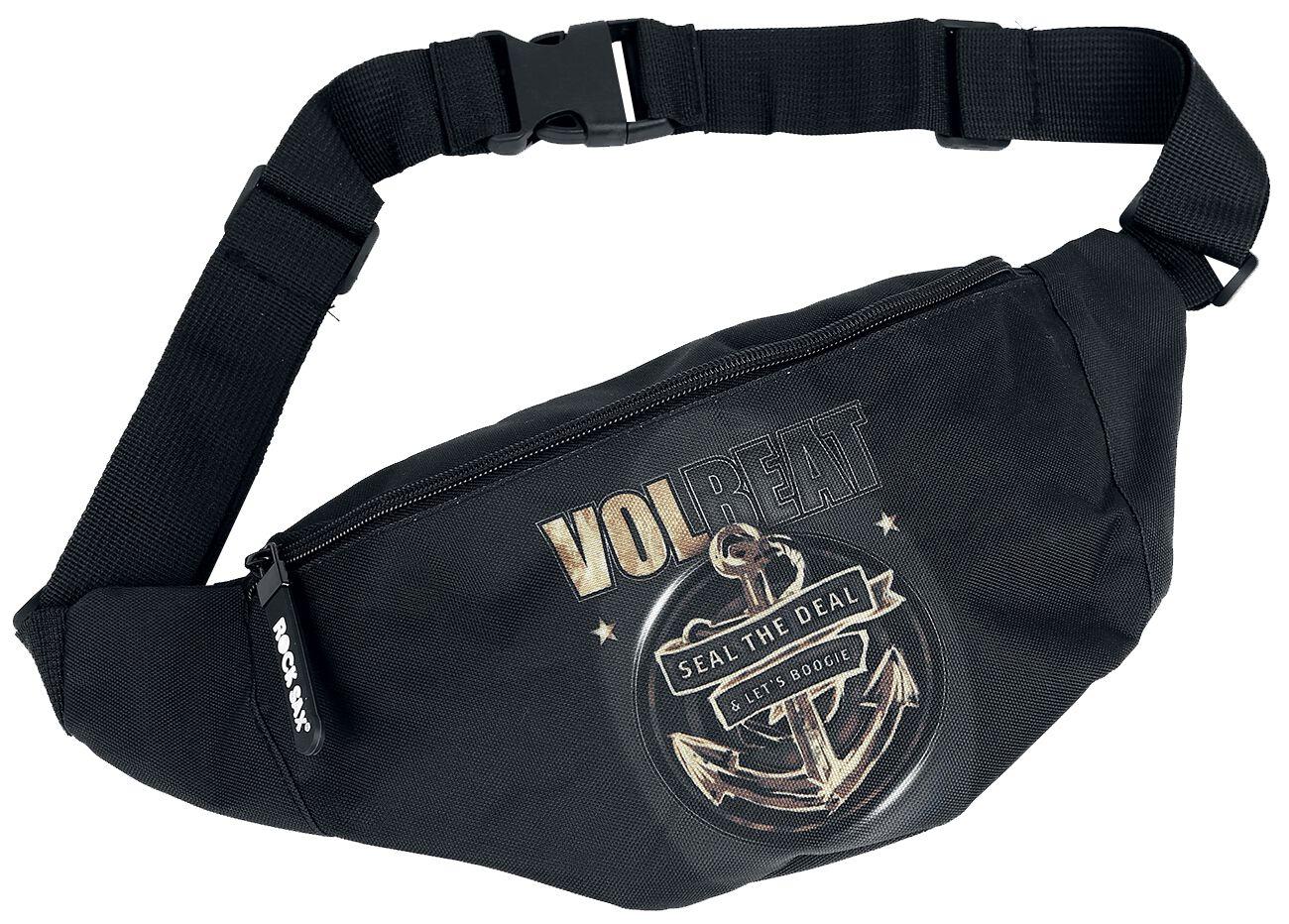 Image of   Volbeat Seal The Deal Bæltetaske sort